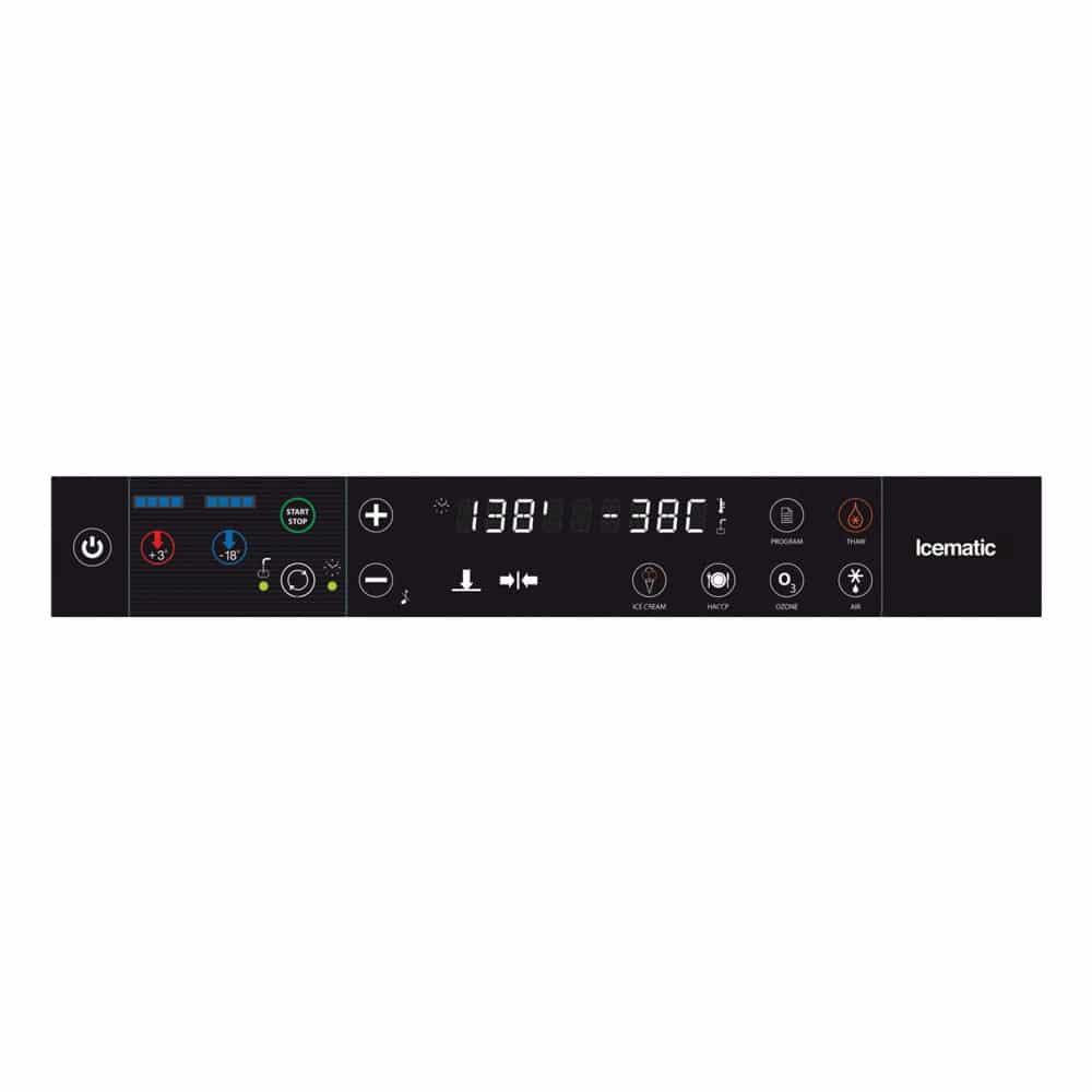 icematic blast chiller shock freezer bc 10.35 controlpanel 1