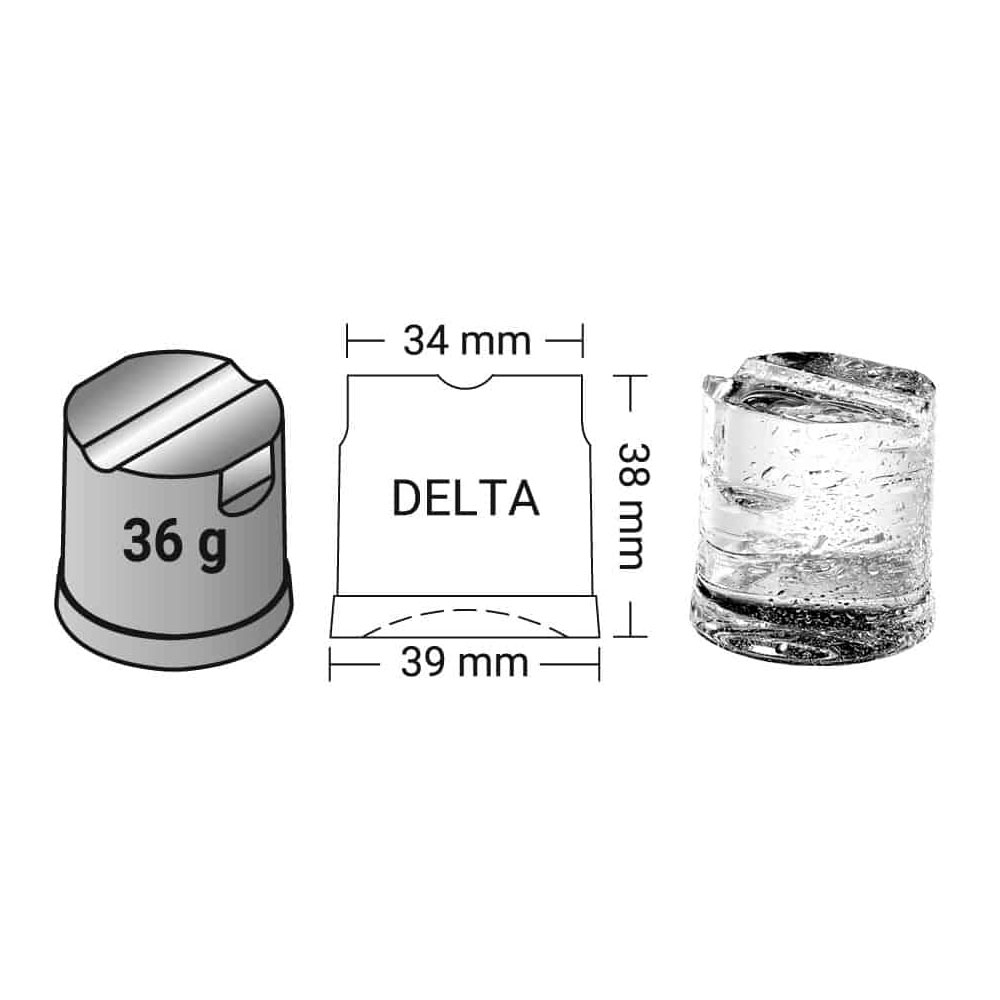 ice 36 gr for delta 7 1