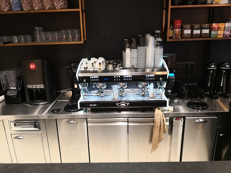 bake bar coffee station 1