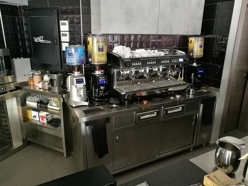 grey cafe coffee station 1