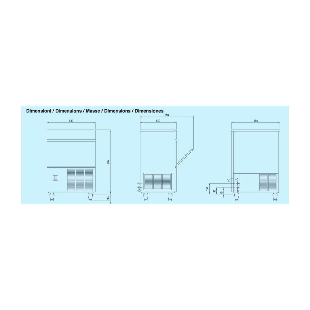 icematic f125c1 1 1